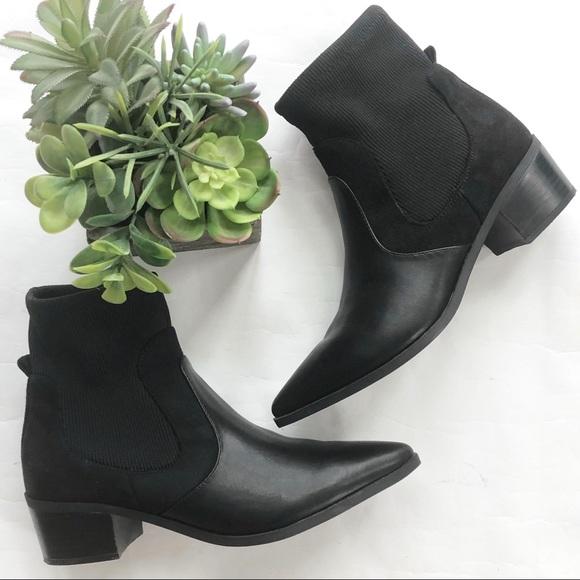 Crown Vintage Ankle sock booties boots western